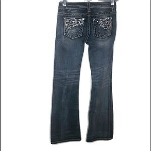 Mss Me Jeans for girls size 12. Bling on back.